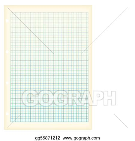 vector art grunge a4 graph paper square clipart drawing