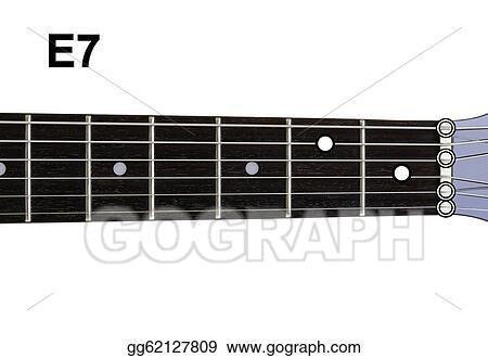 Clip Art - Guitar chords diagrams - e7. guitar chords diagrams ...