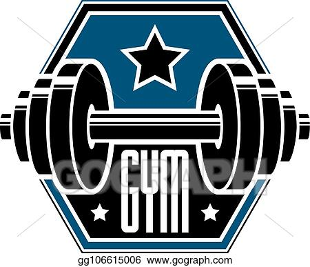 Eps Illustration Gym Weightlifting And Fitness Sport Club