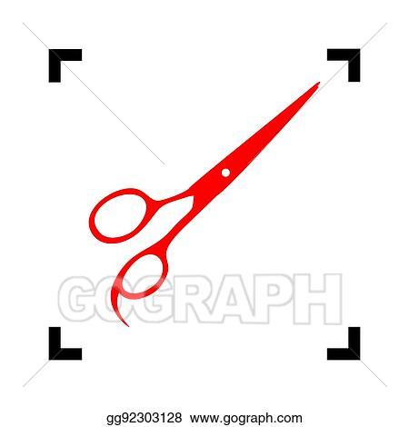 Hair Cutting Scissors Vector 77