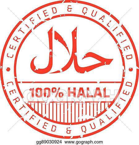 vector illustration halal logo eps clipart gg89030924 gograph