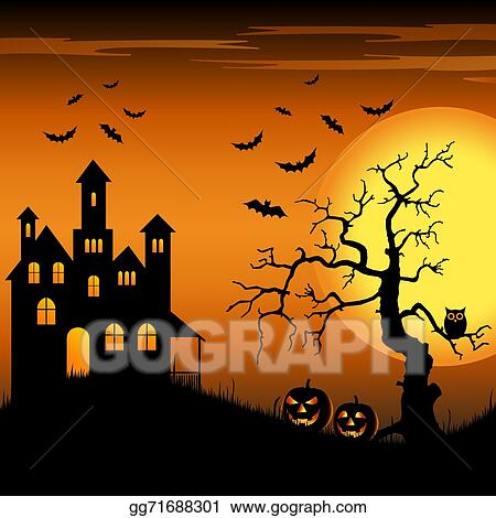 The Halloween Tree , Halloween Trees transparent background PNG clipart    HiClipart