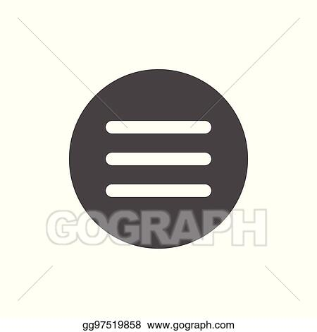 Eps Vector Hamburger Manu Ui And Ux Icons For Mobile Or Web Applications Stock Clipart Illustration Gg97519858 Gograph