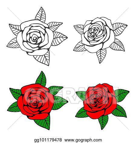 Flower Stem Template Black And Whiteblack White Clipart Of Flower ... | 470x450