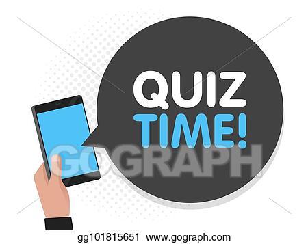 Vector Illustration - Hand holding smartphone screen background