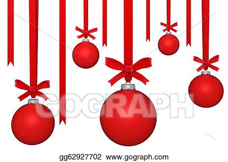 Stock Illustration Hanging Ornaments Clipart Gg62927702