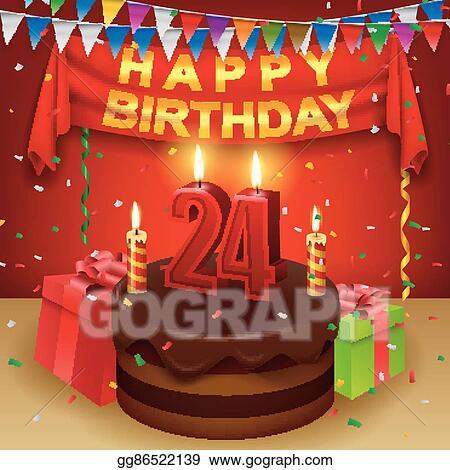 24th Birthday Wishes | Happy birthday cake images, Cool happy birthday  images, Happy birthday cakes