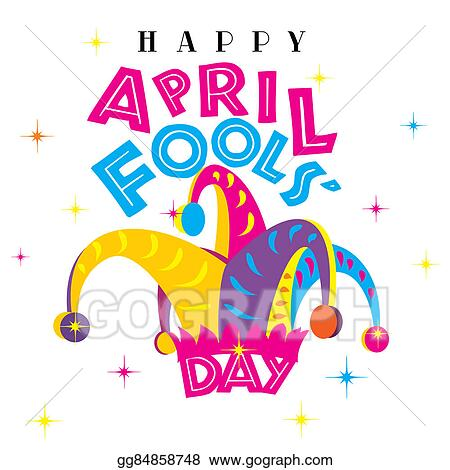 clipart happy april fools day stock illustration gg84858748 gograph rh gograph com april fool's day clipart Earth Day Clip Art