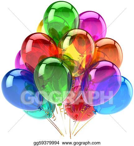 Happy Birthday Balloons Decoration