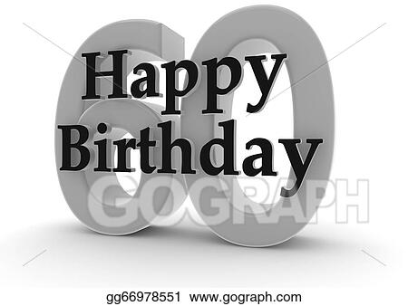 Happy Birthday For 60th
