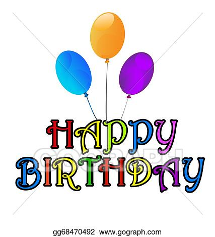 Stock Images Happy Birthday Greetings Card Stock Photography
