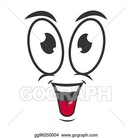 Clip Art Vector Happy Emotion Icon Logo Design Simple Joyful Cartoon Face Stock Eps Gg96250004 Gograph,Layout Interior Design Templates