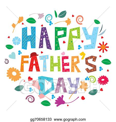 stock illustration happy father s day clipart illustrations rh gograph com father's day clipart images fathers day clip art borders