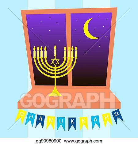 Stock illustration happy hanukkah greeting card design clipart happy hanukkah greeting card design m4hsunfo