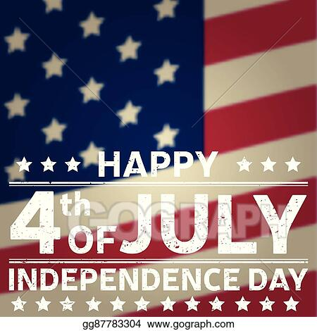 vector art happy independence day background template happy 4th