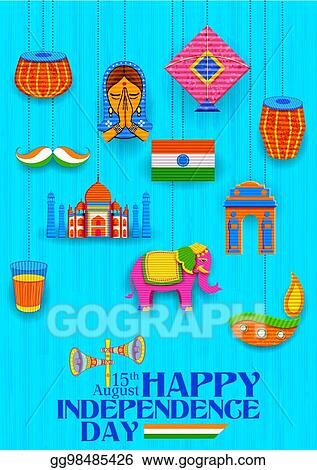 Happy Independence Banners Application Banners