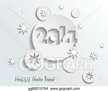 Vector art happy new year 2014 creative greeting card design happy new year 2014 creative greeting card design m4hsunfo