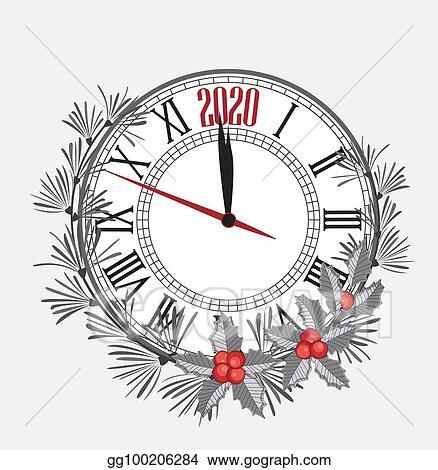 2020 Happy New Year Clip Art Vector Stock   Happy new year 2020. Stock Clip Art gg100206284