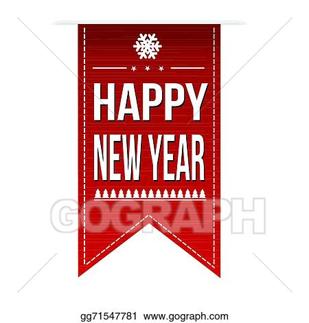 happy new year banner design