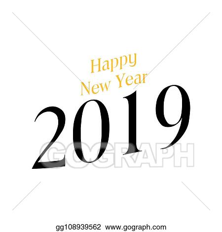 Vector Stock Happy New Year Clipart Illustration Gg108939562