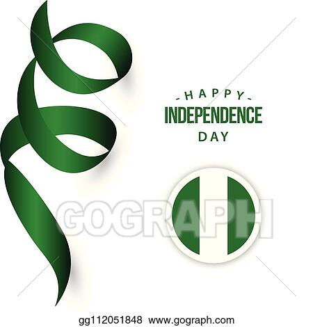 Vector Illustration - Happy nigeria independence day vector ...