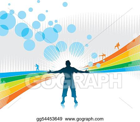 drawings happy people stock illustration gg54453649 gograph