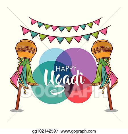 happy ugadi new year celebration religious party