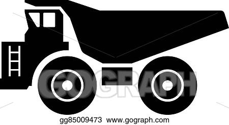 Vector Illustration Haul Truck Eps Clipart Gg85009473 Gograph