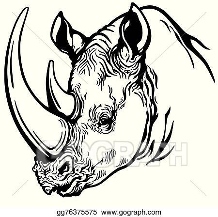 White Rhinoceros Clip Art Royalty Free Gograph