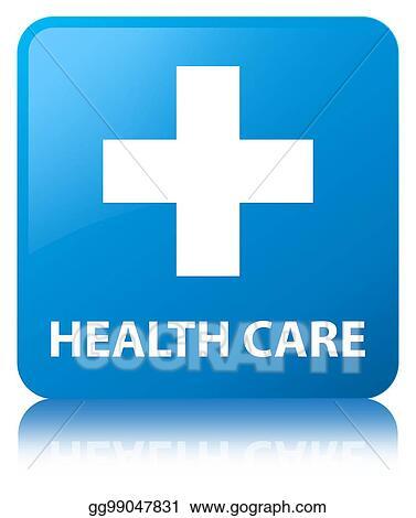 Comps Gograph Com Health Care Plus Sign Cyan Blue