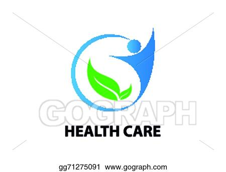 Vector Illustration Health Care Symbol Stock Clip Art Gg71275091