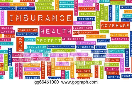 Stock Illustration Health Insurance Clipart Gg66451000 Gograph