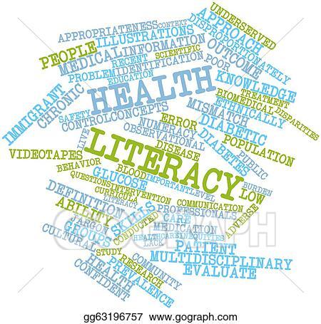 Clipart Health Literacy Stock Illustration Gg63196757 Gograph