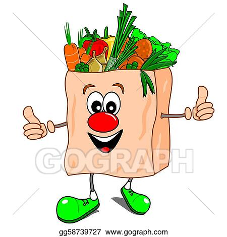 vector stock healthy eating clipart illustration gg58739727 gograph rh gograph com healthy eating clipart bitesize ks2 for kids healthy diet clipart