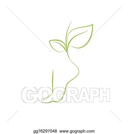 vector stock healthy feet vector spa symbol clipart illustration gg76297048 gograph healthy feet vector spa symbol clipart