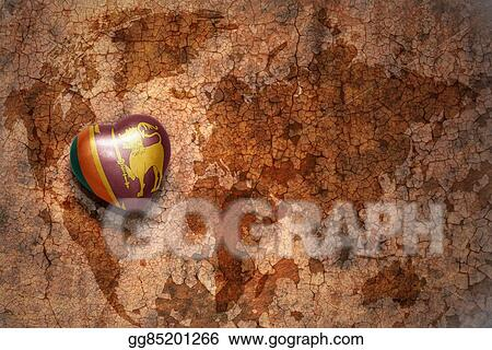 Stock illustration heart with national flag of sri lanka on a stock illustration heart with national flag of sri lanka on a vintage world map crack paper background clipart drawing gg85201266 gograph gumiabroncs Image collections