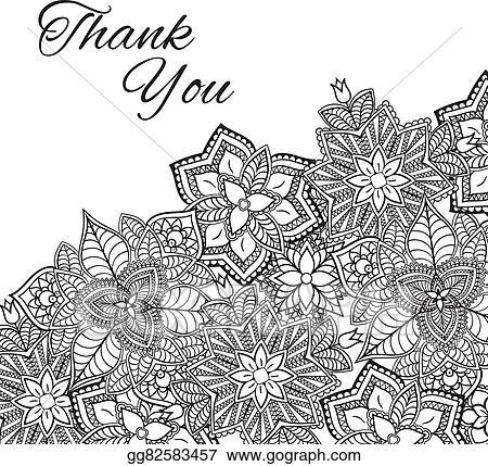 Eps vector henna flowers mehndi design vector element with text henna flowers mehndi design vector element with text place for invitations and cards stopboris Images