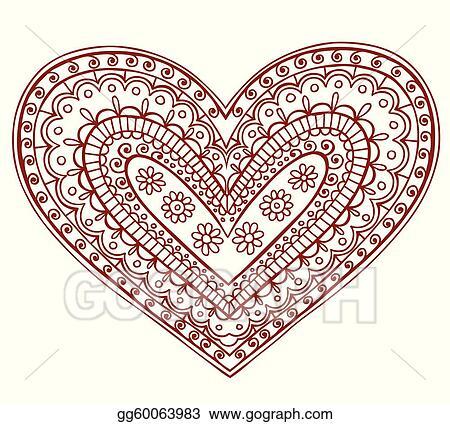 Henna Clip Art Royalty Free Gograph
