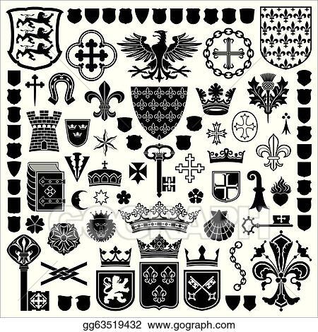 Medieval Symbols Clip Art World Wide Clip Art Website