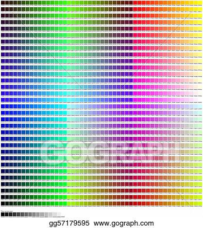 Hex Color Code Chart