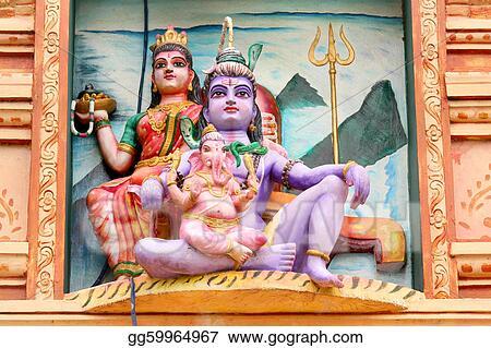Stock Photo - Hindu gods  Stock Photos gg59964967 - GoGraph