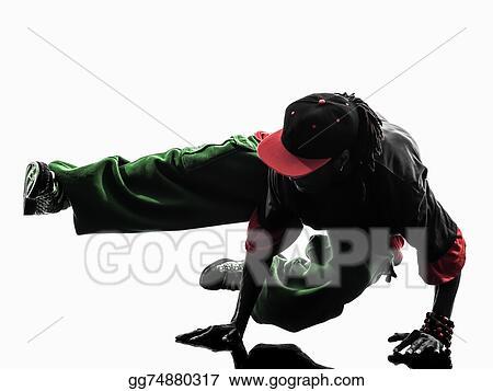 752982aa3 Stock Photos - Hip hop acrobatic break dancer breakdancing young man ...