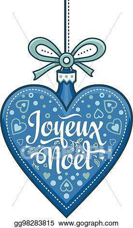 Joyeux Noel Clipart.Eps Illustration Holiday Background Christmas Card