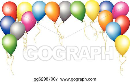 Blue Balloons Clip Art Royalty Free Gograph