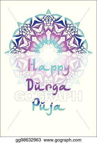 Vector stock holiday greetings illustration durga puja clipart holiday greetings illustration durga puja m4hsunfo