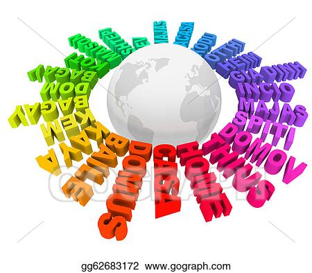 Drawing home words different languages cultures around world home words different languages cultures around world publicscrutiny Choice Image