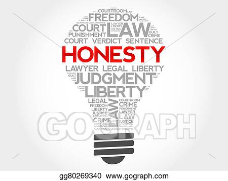 stock illustration honesty clipart drawing gg80269340 gograph rh gograph com honey clipart showing honesty clipart