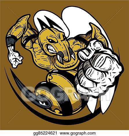 Vector Art Hornet Mascot Clipart Drawing Gg85224621 Gograph