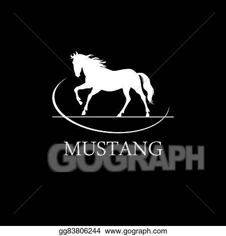 Vector Stock Horse Symbol Vector Stock Clip Art Gg83806244 Gograph