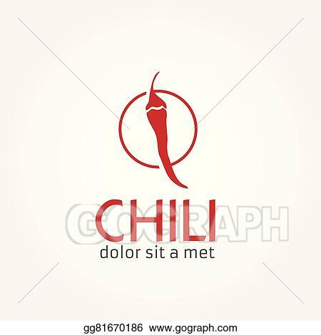 EPS Illustration - Hot chili pepper vector design template. Vector ...